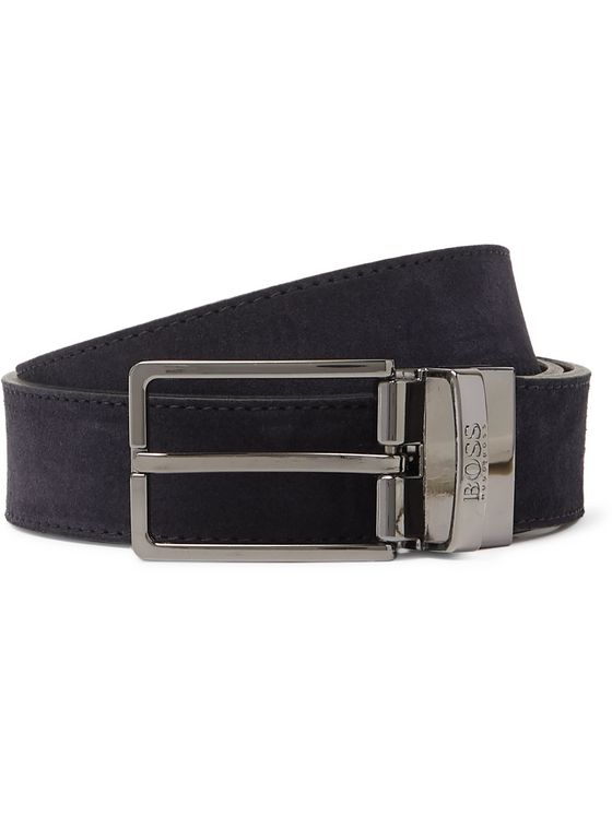 Hugo Boss 3cm Suede Belt