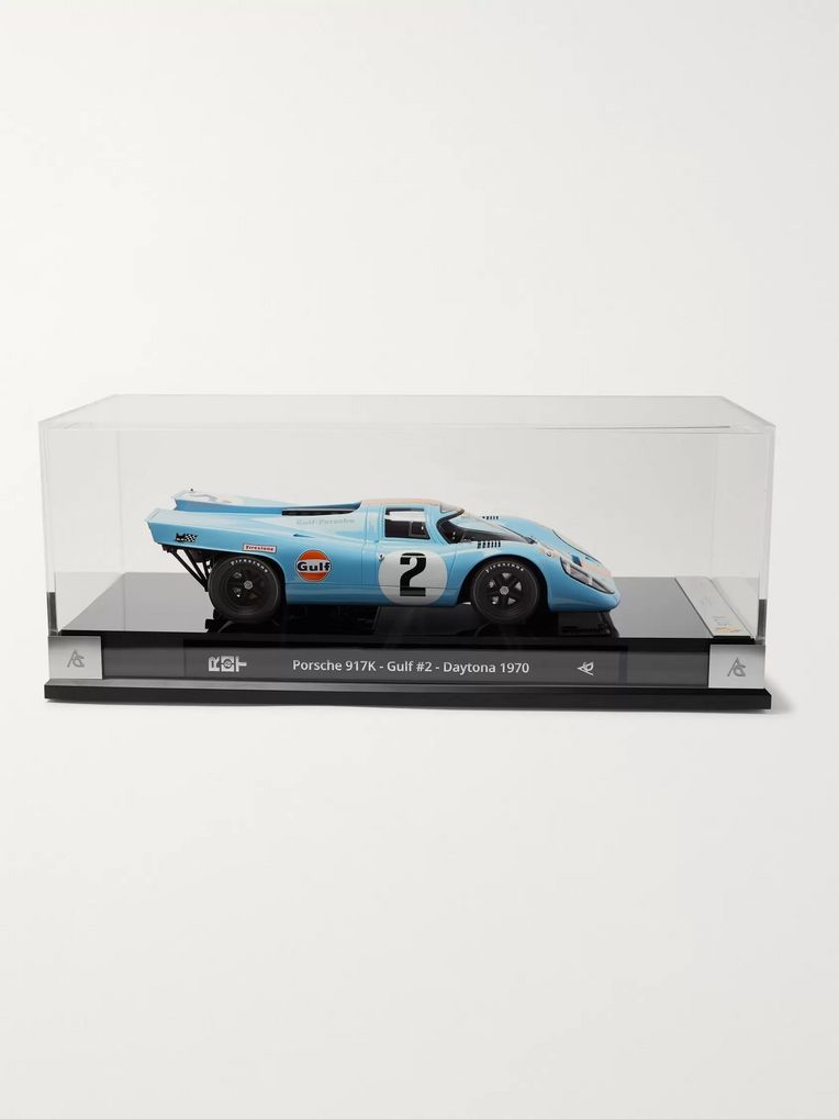 Amalgam Collection Porsche 917K Gulf #2 Winner Daytona 1970 1:18 Model Car
