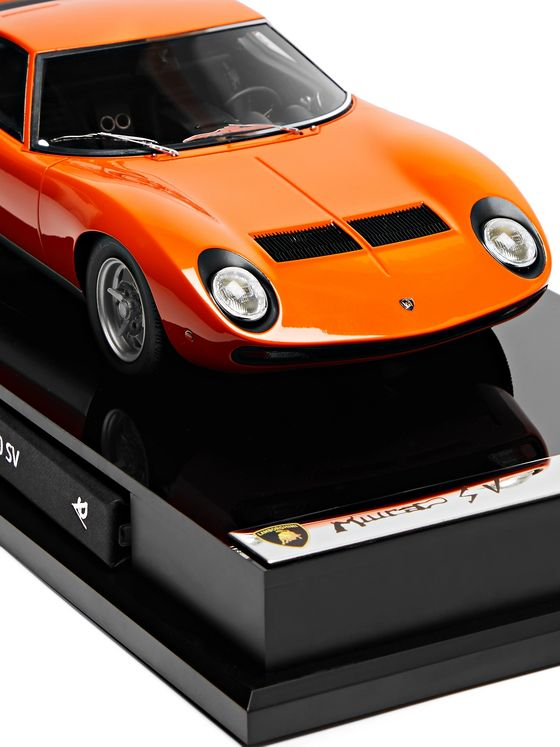 Amalgam Collection Lamborghini Miura P400 SV 1:18 Model Car