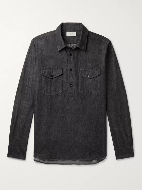 Mr P. Cotton-Chambray Shirt