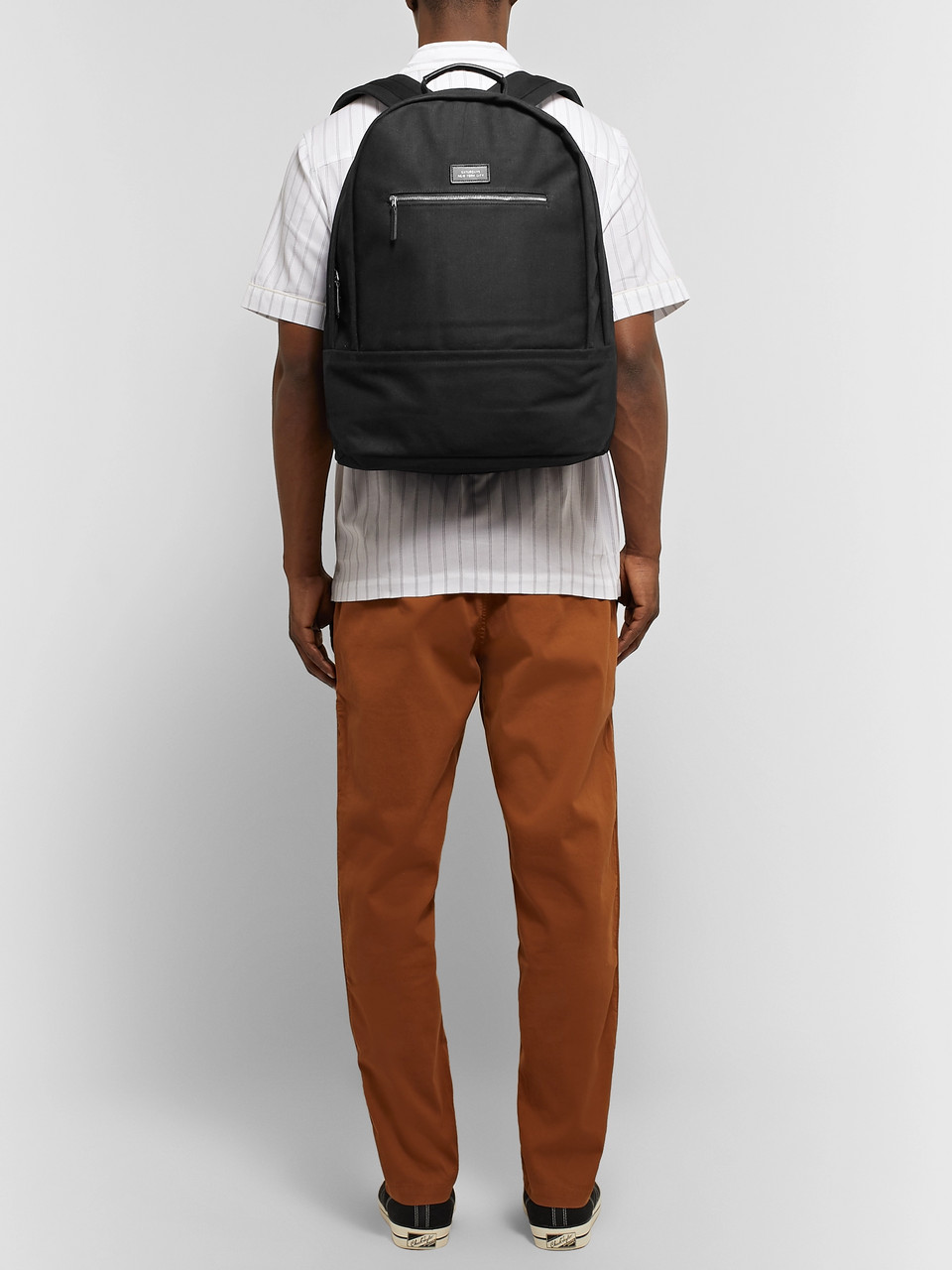 Saturdays NYC Hannes Cotton-Canvas Backpack