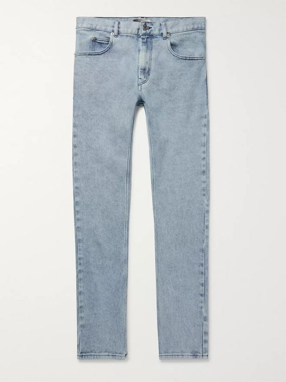 Isabel Marant Kanh Skinny-Fit Washed Denim Jeans