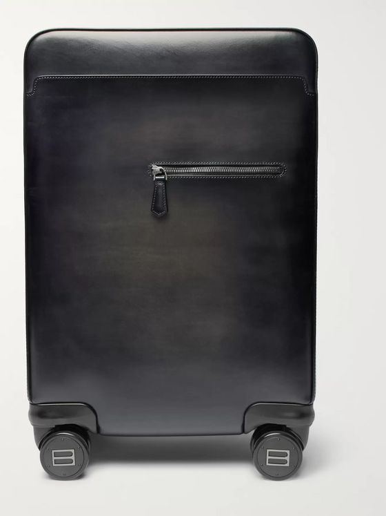 Berluti Formula 1004 Leather Carry-On Suitcase