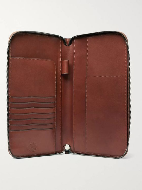 James Purdey & Sons Leather Travel Wallet