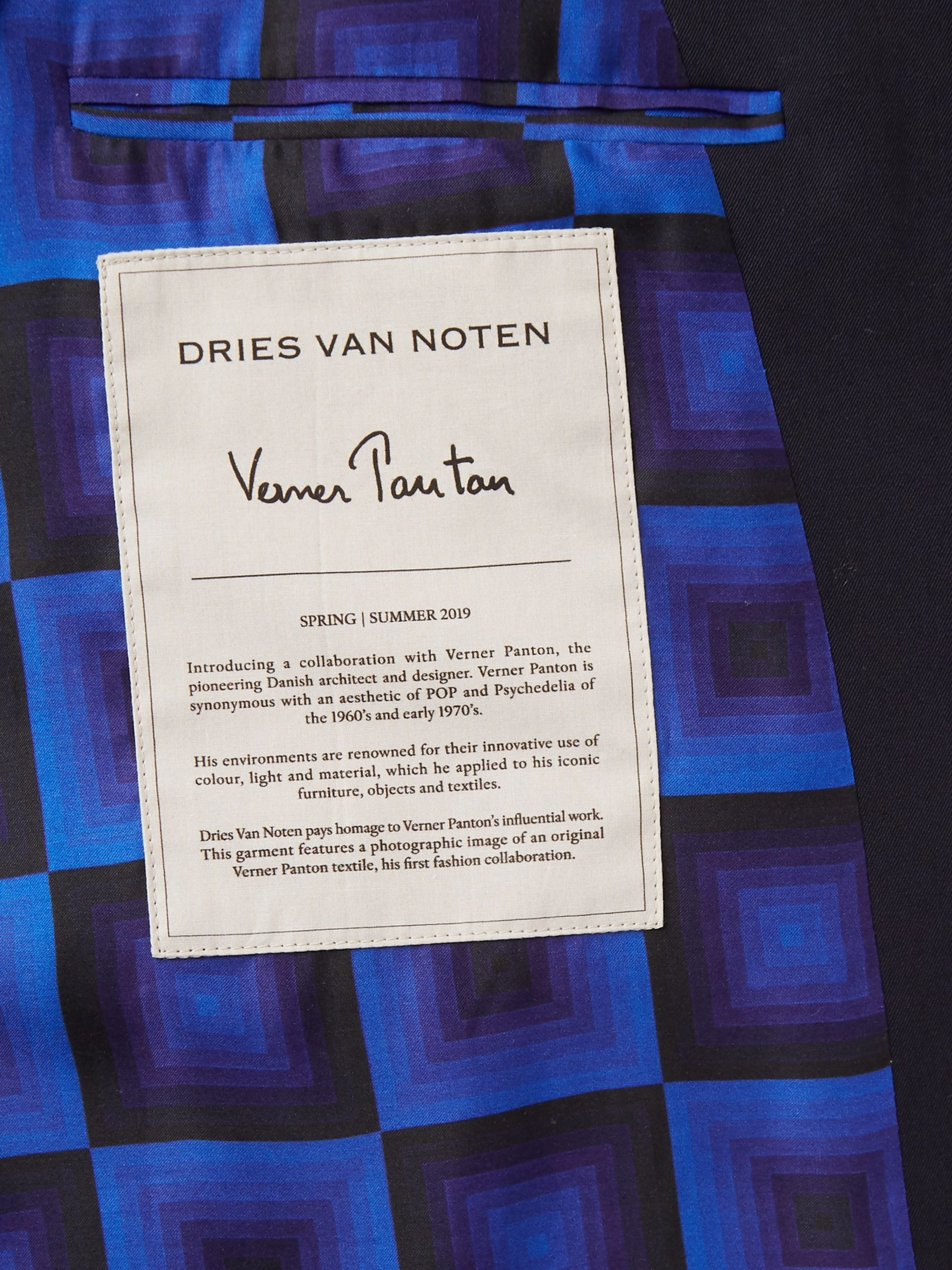 Dries Van Noten Wool Trench Coat