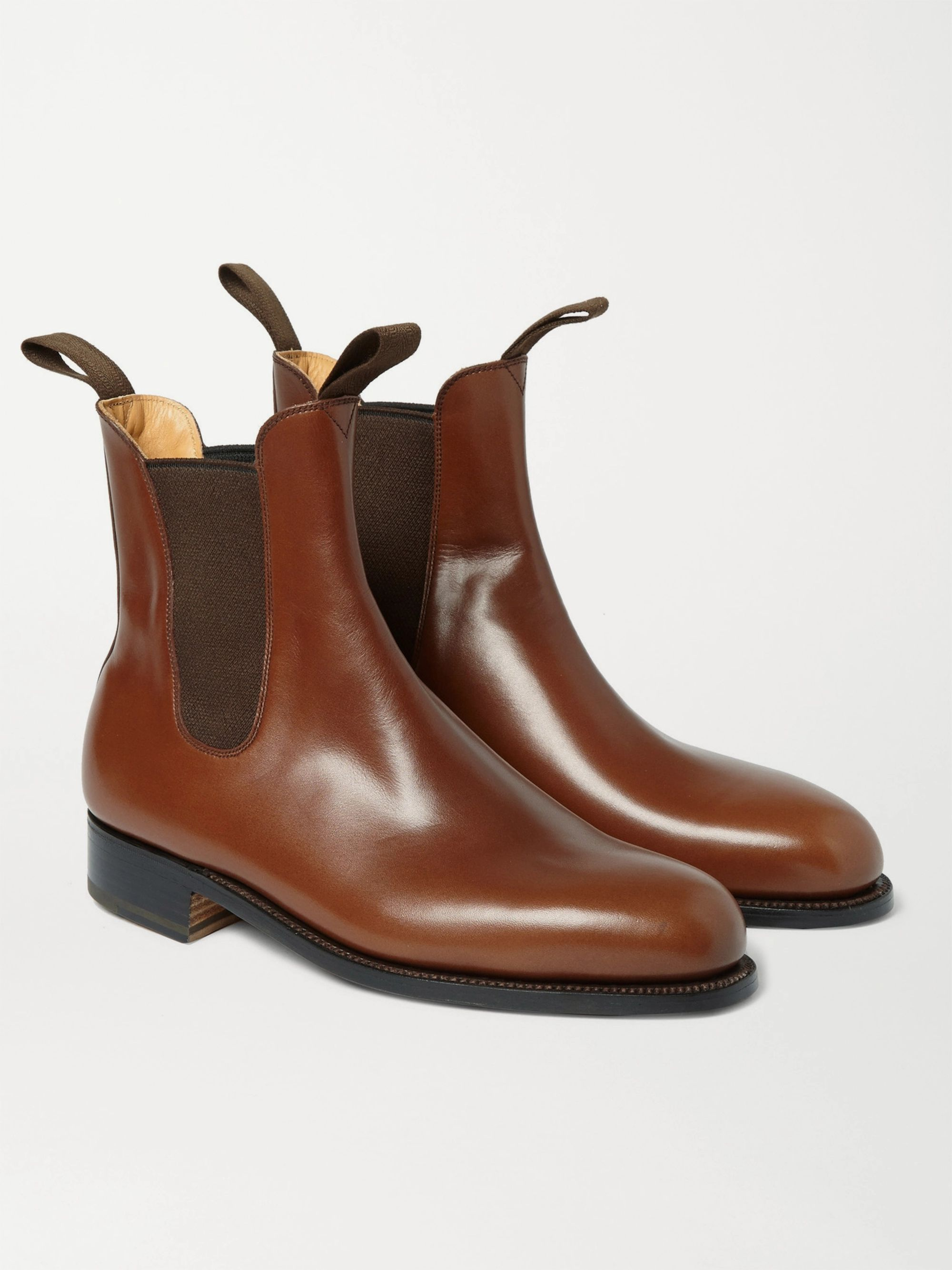 J.M. Weston Goodyear®-Welted Leather Chelsea Boots
