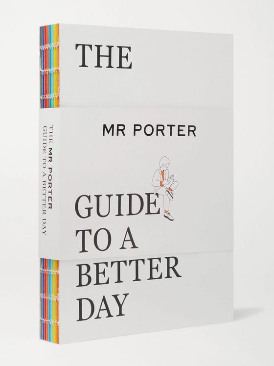 The Mr Porter Paperback The MR PORTER Guide to a Better Day Paperback Book