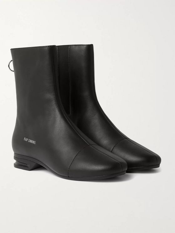 Raf Simons 2001-2 Leather Chelsea Boots