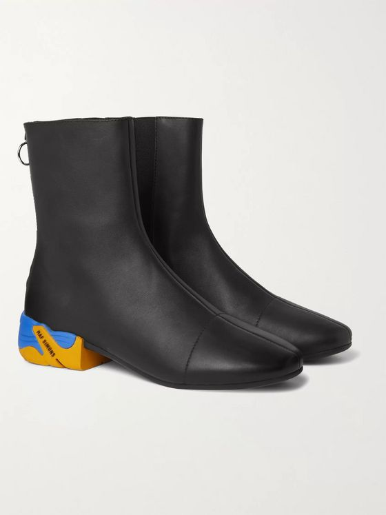 Raf Simons Solaris-2 Leather Chelsea Boots