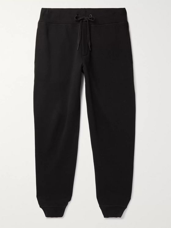 RAG & BONE Damon Fleece-Back Cotton-Blend Jersey Sweatpants