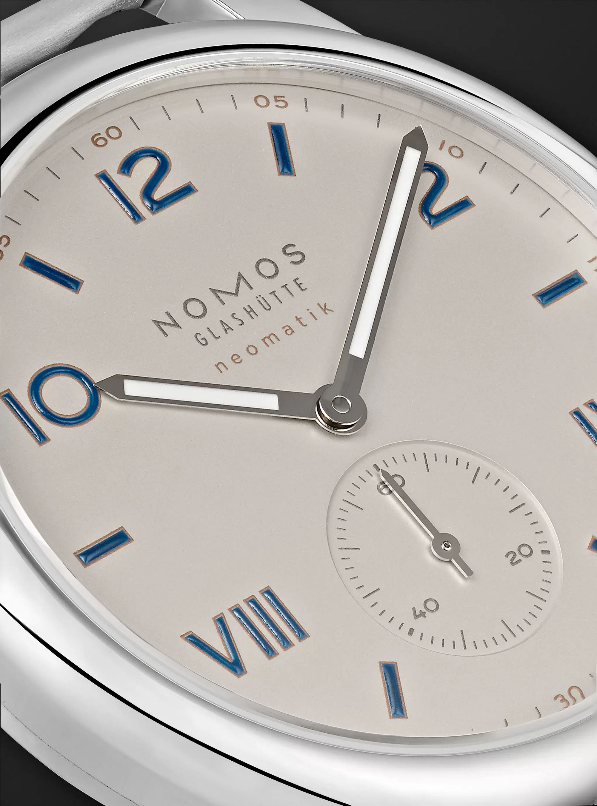 NOMOS Glashütte Club Sport Neomatik Automatic 42mm Stainless Steel Watch