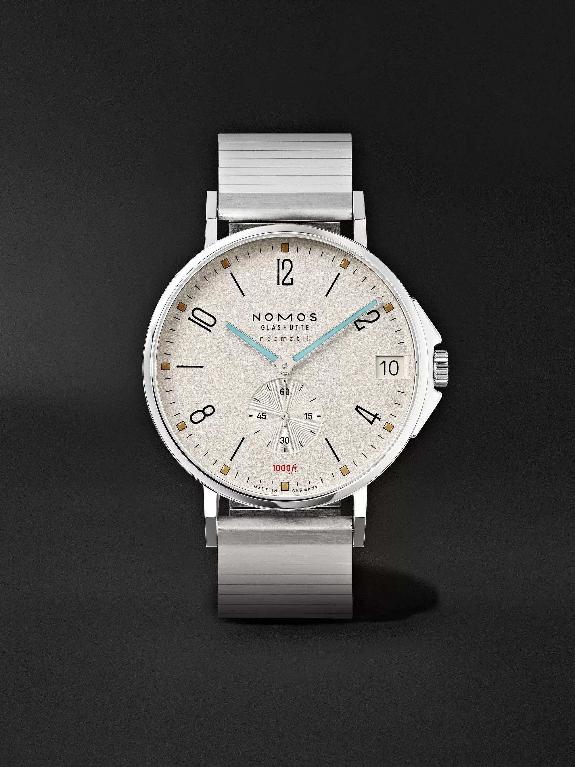 NOMOS Glashütte Tangente Sport Neomatik Automatic 42mm Stainless Steel Watch