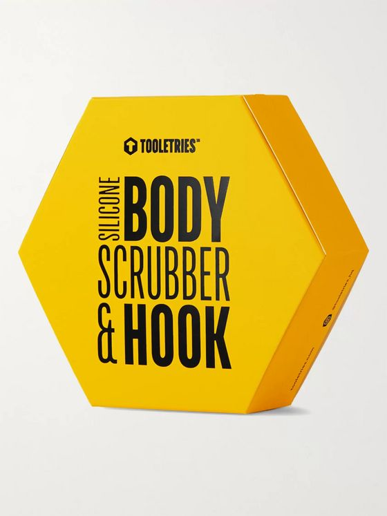 TOOLETRIES Body Scrubber & Hook Set