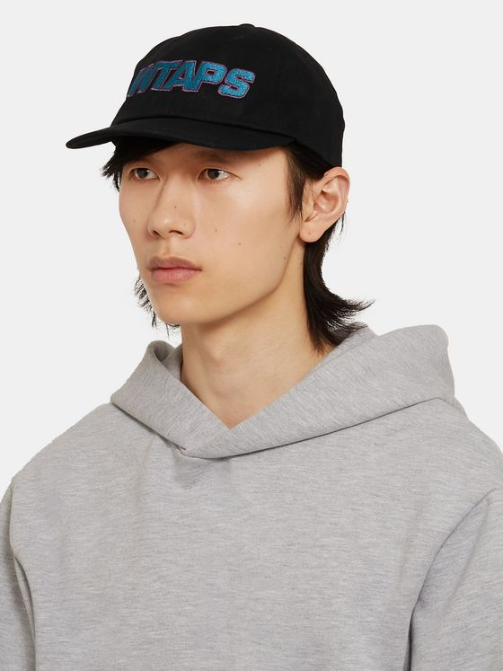 WTAPS Logo-Embroidered Cotton-Twill Baseball Cap