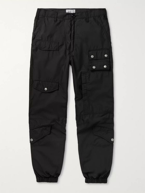 WTAPS Cotton-Blend Cargo Sweatpants