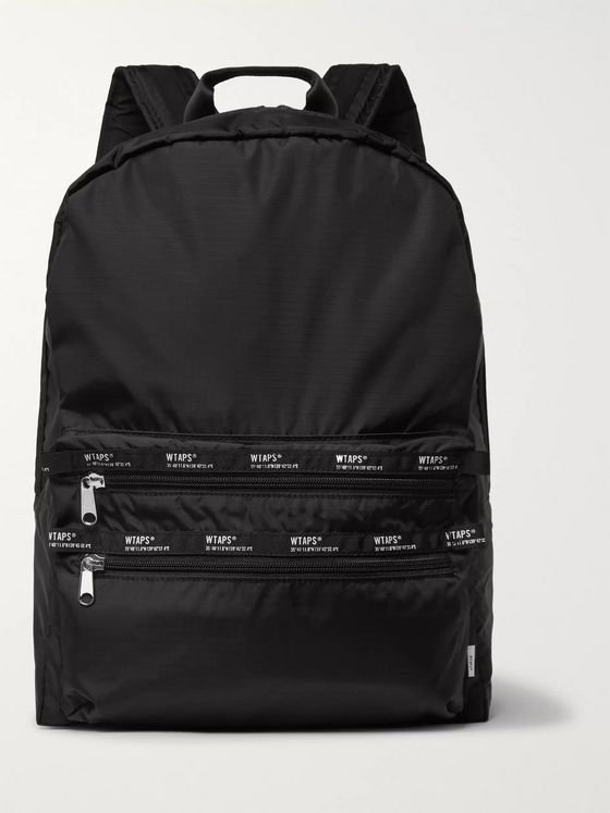 WTAPS Logo-Appliquéd Ripstop Backpack