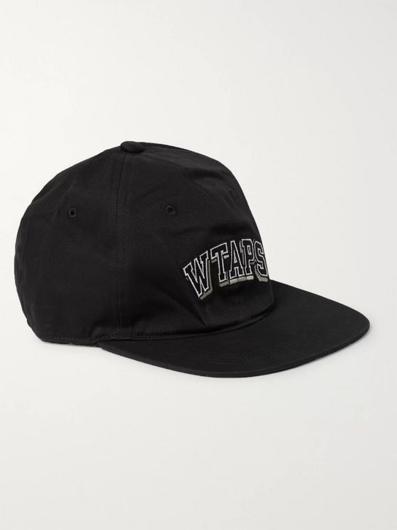 WTAPS T-6H Logo-Embroidered Cotton-Twill Baseball Cap