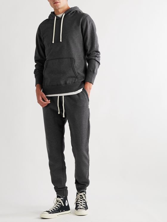 Reigning Champ Mélange Loopback Cotton-Jersey Hoodie