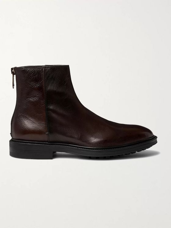Paul Smith Oscar Leather Chelsea Boots