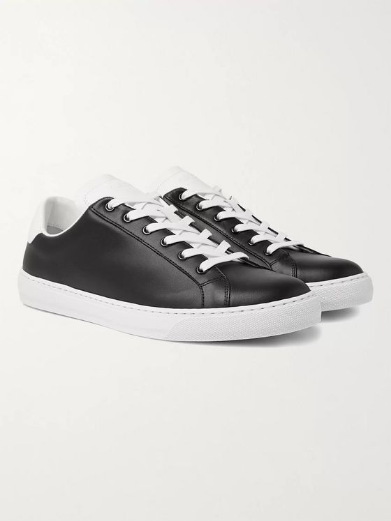 Paul Smith Hansen Colour-Block Leather Sneakers