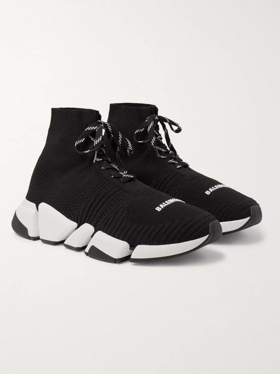 BALENCIAGA Speed 2.0 Stretch-Knit Sneakers