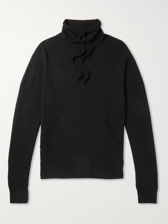 MR P. Wool and Cashmere-Blend Mock-Neck Sweater