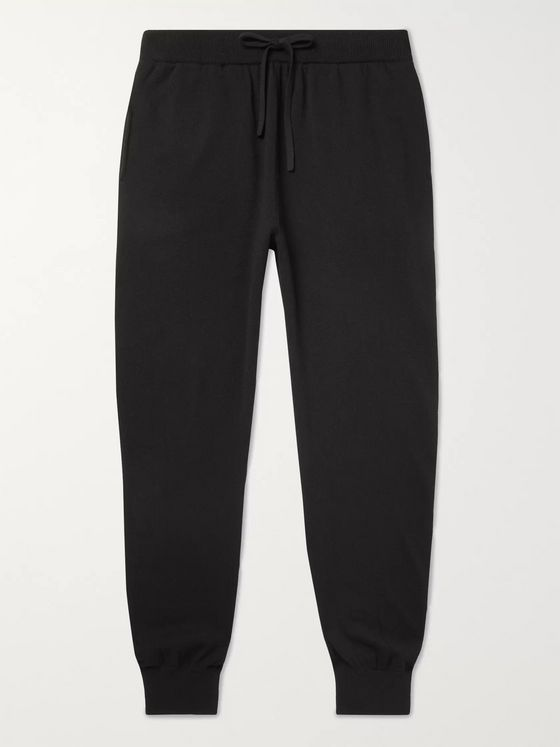 MR P. Slim-Fit Wool and Cashmere-Blend Sweatpants