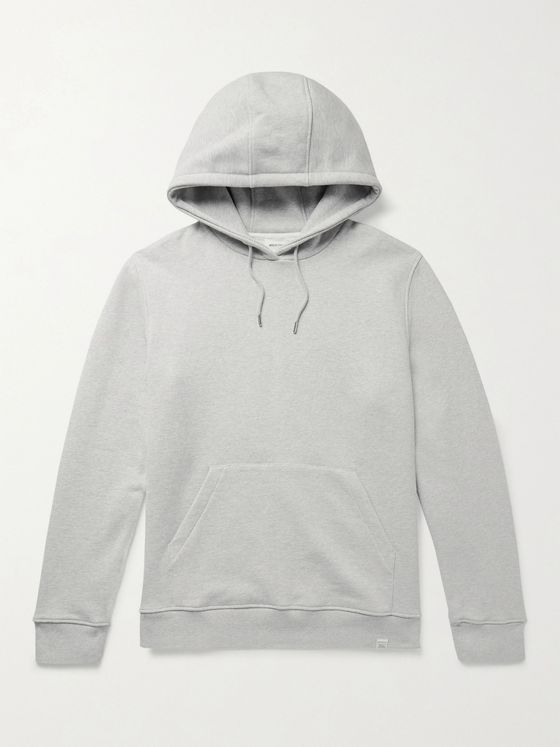 NORSE PROJECTS Vagn Slim-Fit Mélange Loopback Cotton-Jersey Hoodie