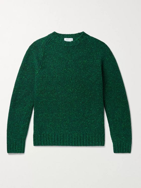 GABRIELA HEARST Juan Donegal Cashmere Sweater