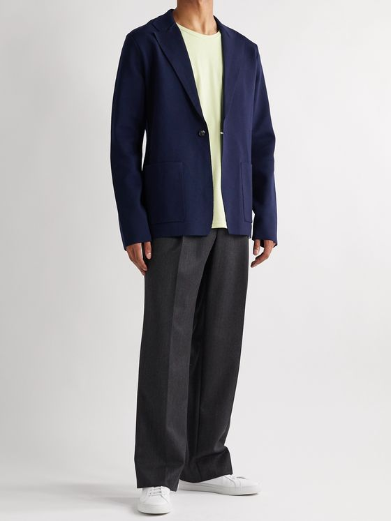 GABRIELA HEARST Orazio Unstructured Wool-Blend Blazer