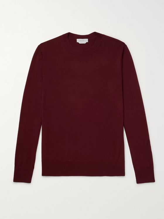 GABRIELA HEARST Palco Slim-Fit Virgin Wool Sweater