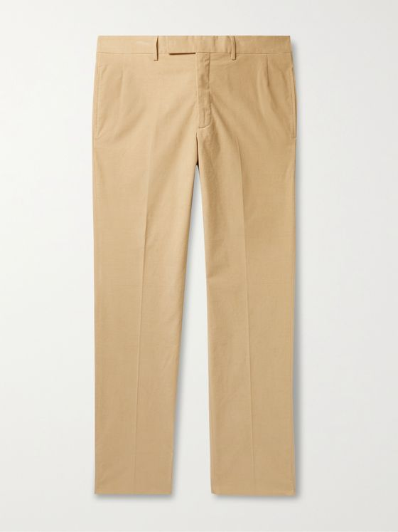 GABRIELA HEARST Sebastian Cotton-Corduroy Suit Trousers