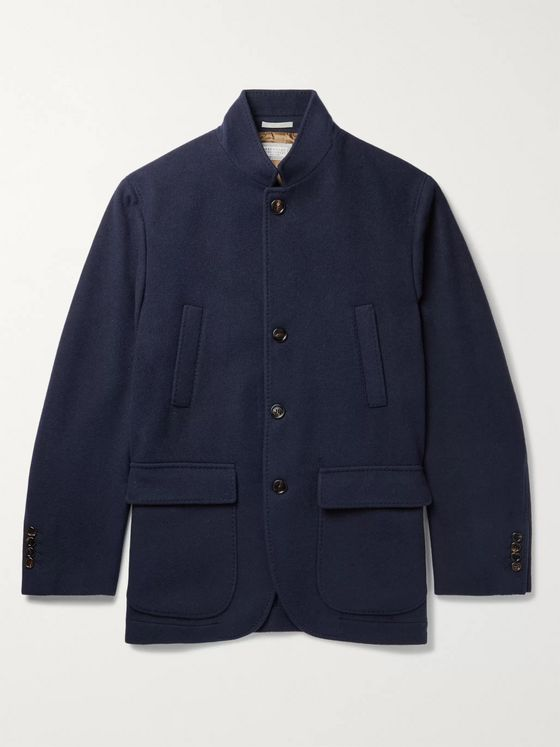 Brunello Cucinelli Wool and Cashmere-Blend Jacket