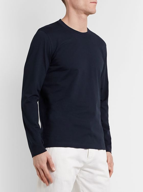 Brunello Cucinelli Cotton-Jersey T-Shirt