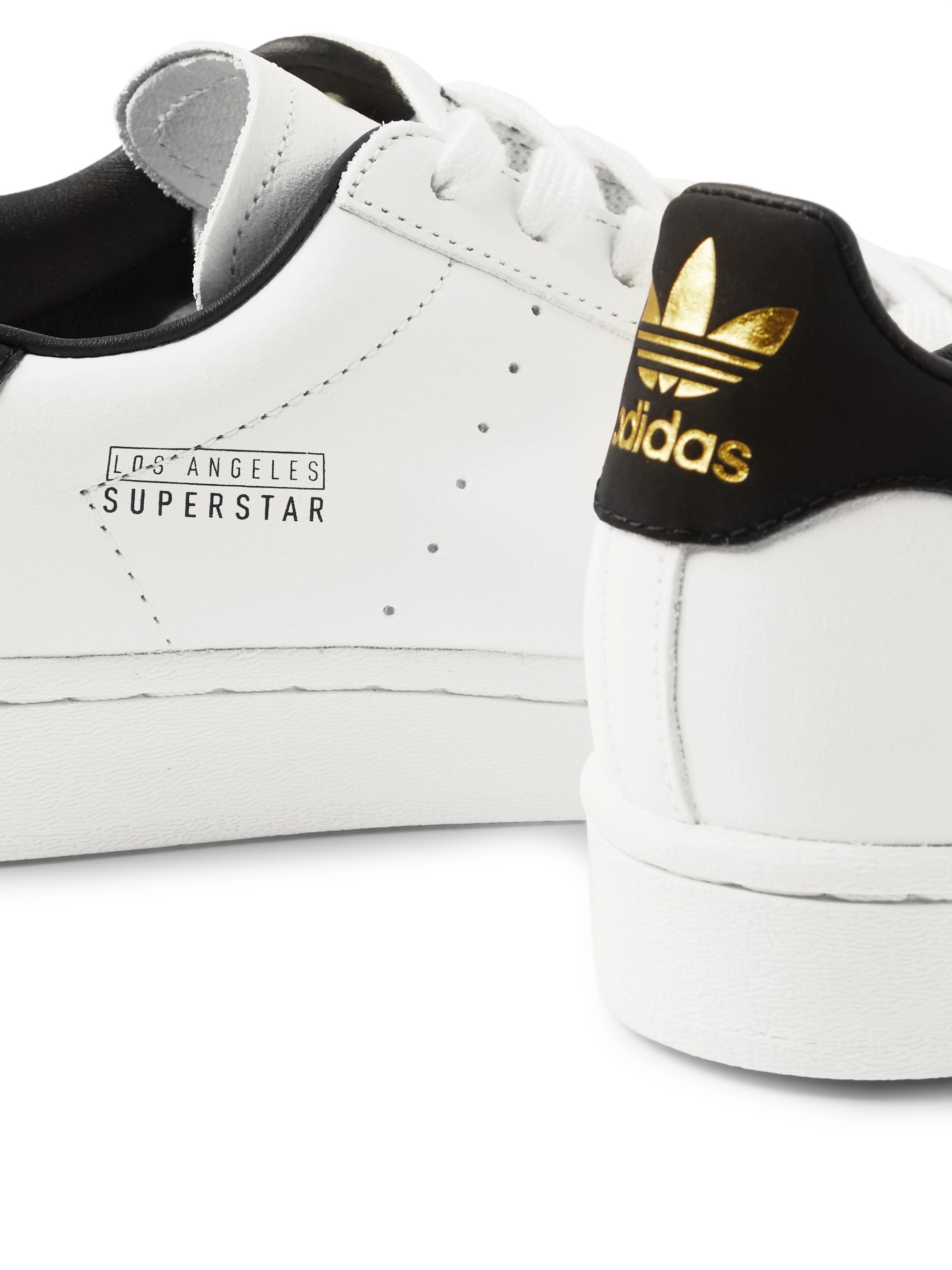 adidas Originals Superstar Pure Leather Sneakers