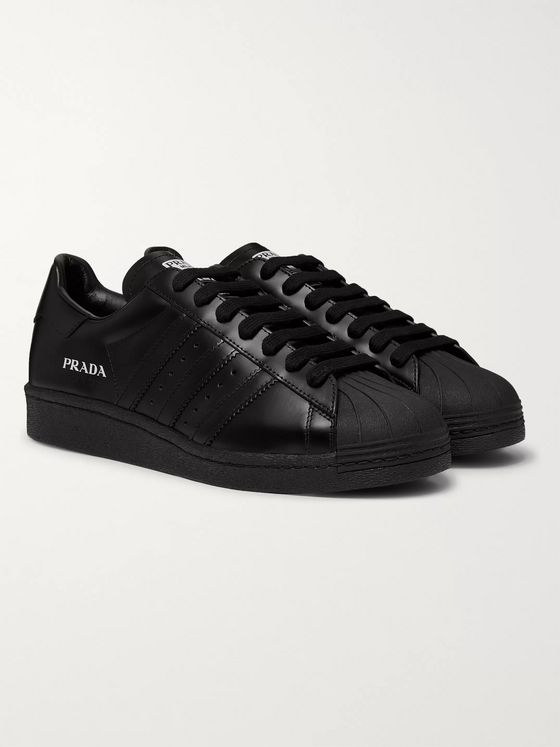 adidas Consortium + Prada Superstar 450 Leather Sneakers