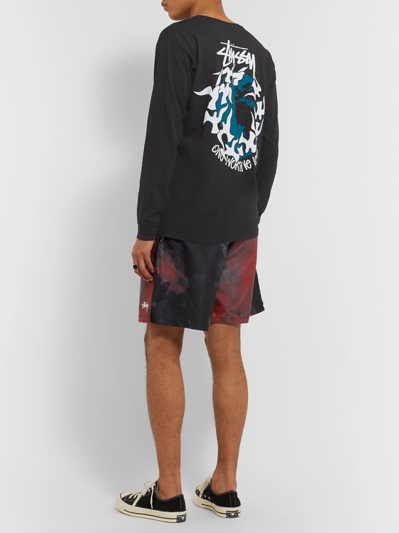 Stüssy Printed Cotton-Jersey T-Shirt