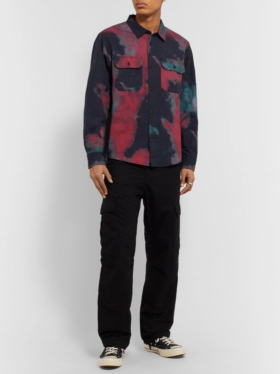 Stüssy Tie-Dyed Cotton Shirt