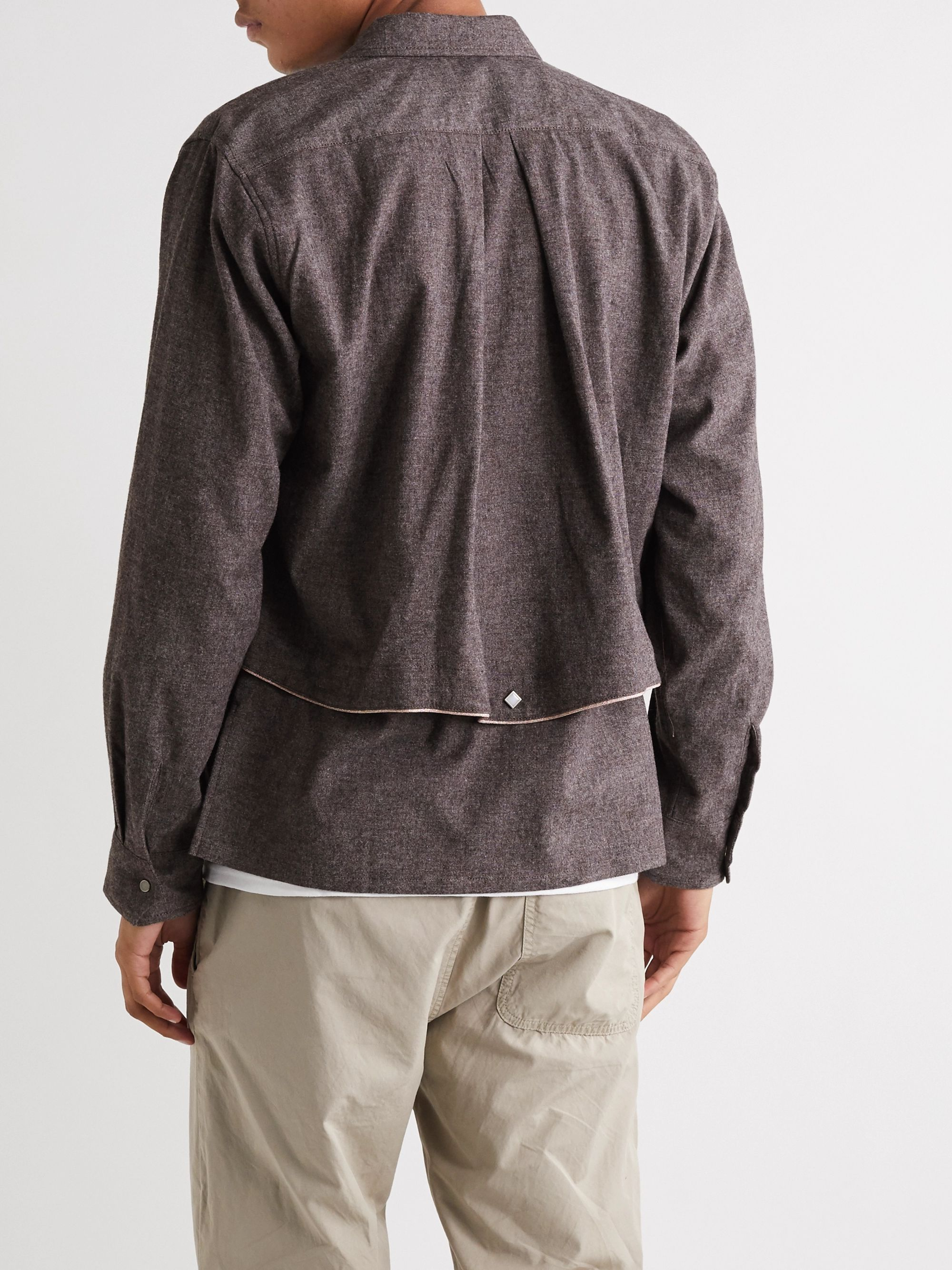 Sasquatchfabrix. Layered Woven Shirt