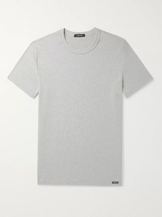 TOM FORD Stretch-Cotton Jersey T-Shirt