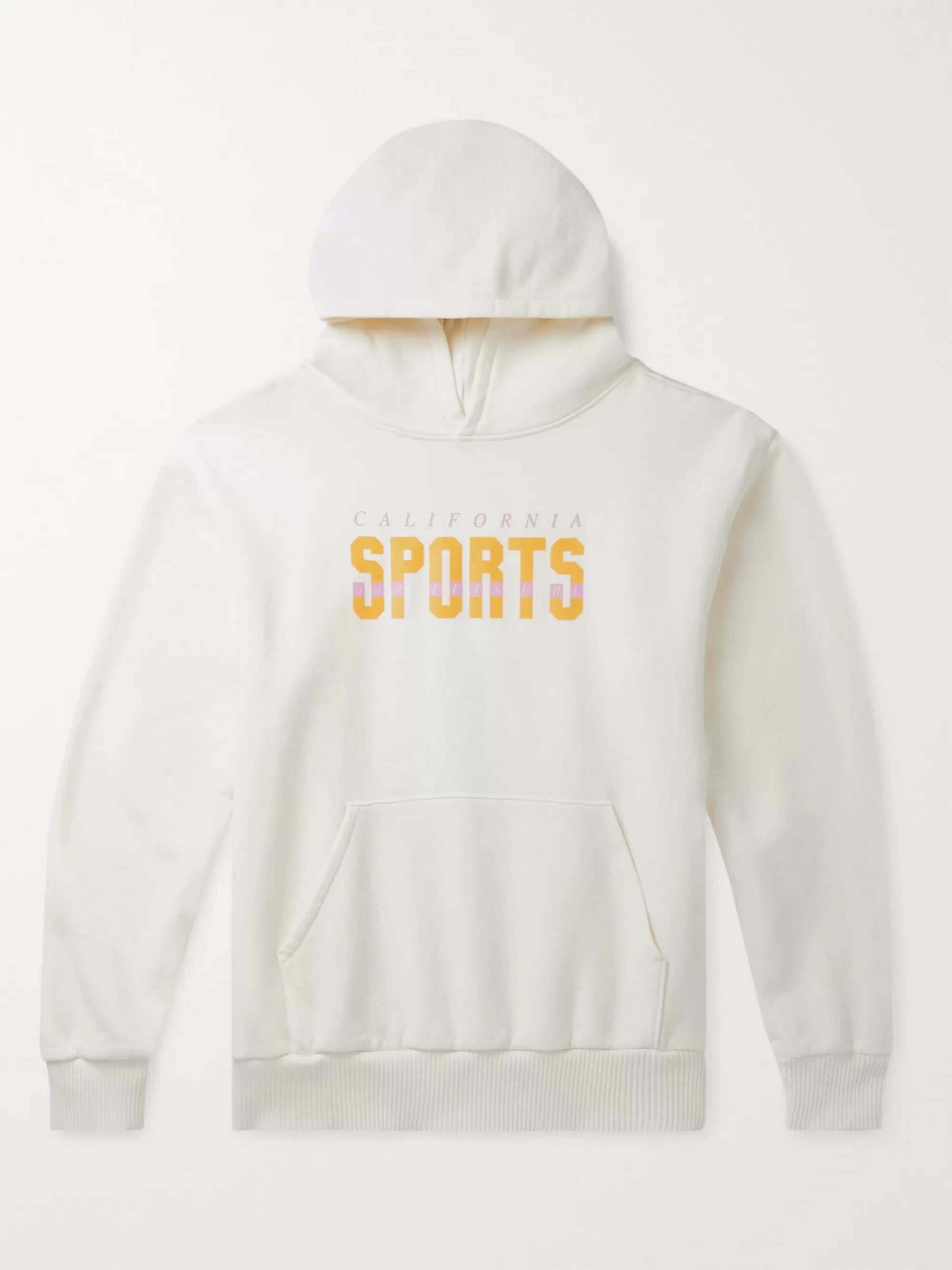 Pasadena Leisure Club Printed Cotton-Jersey Hoodie