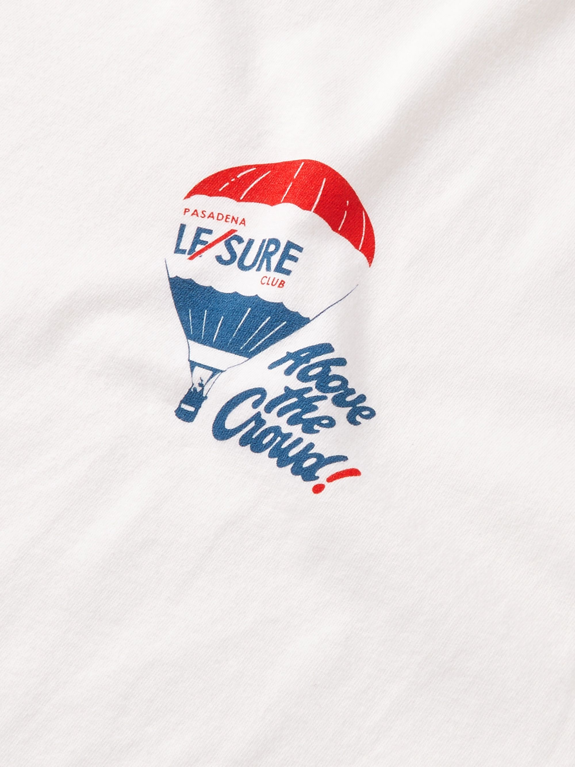 Pasadena Leisure Club Above the Crowd Printed Combed Cotton-Jersey T-Shirt