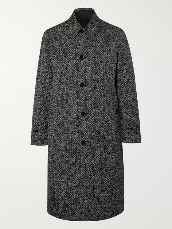 Burberry Reversible Nylon Trench Coat