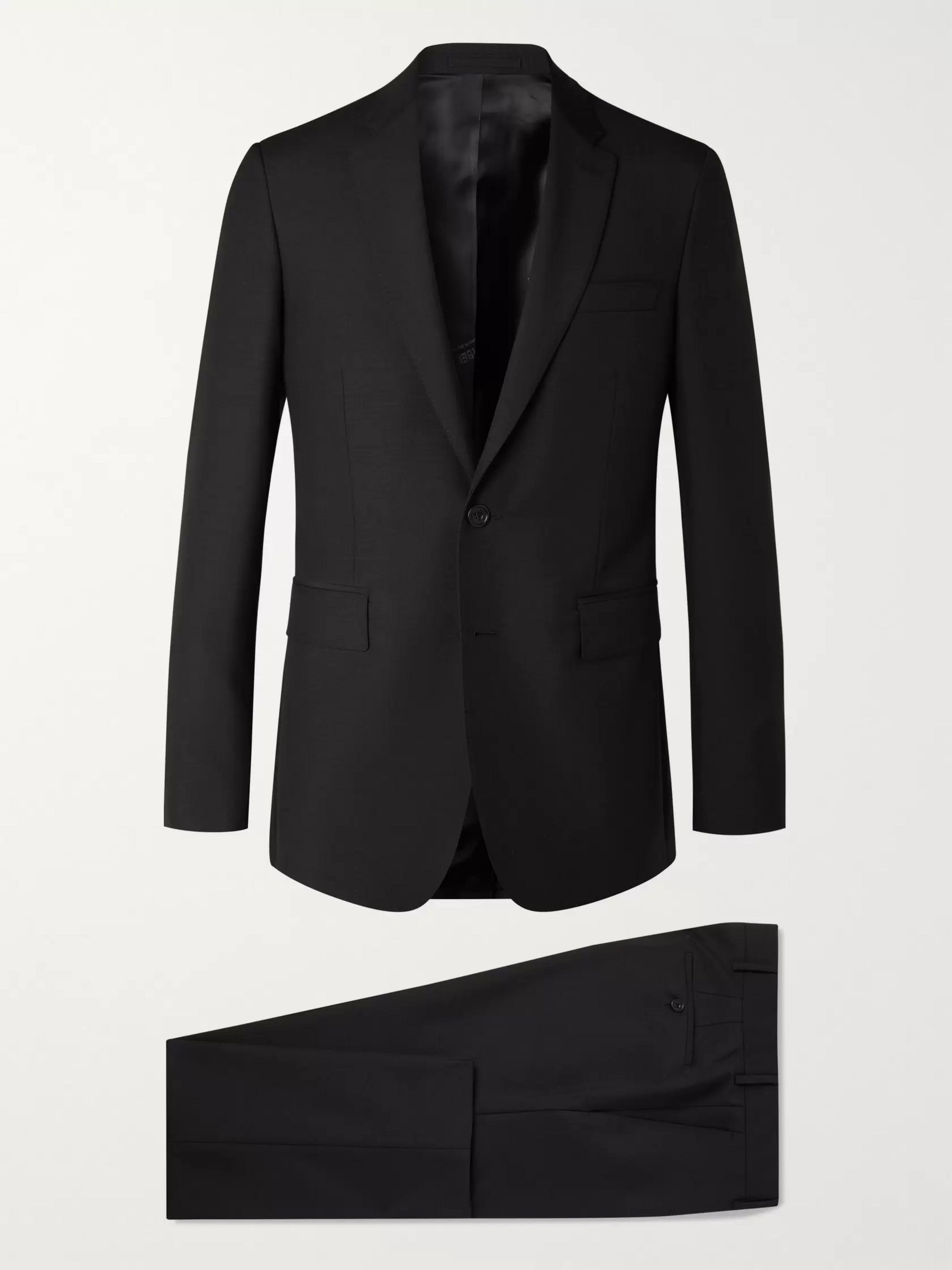 Burberry Slim-Fit Wool and Mohair-Blend Suit