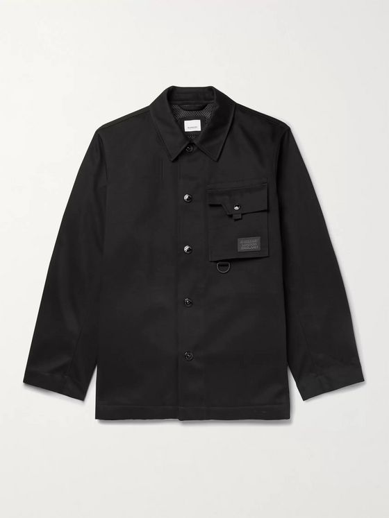 Burberry Cotton-Sateen Shirt Jacket