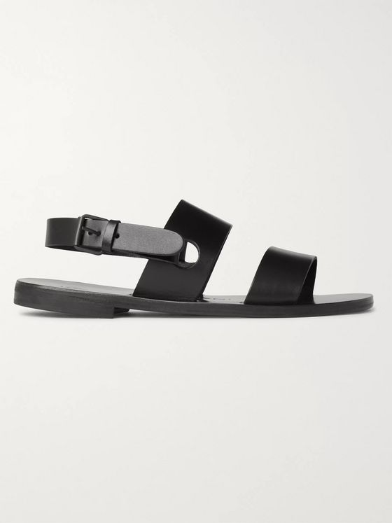 Álvaro Alexander Leather Sandals