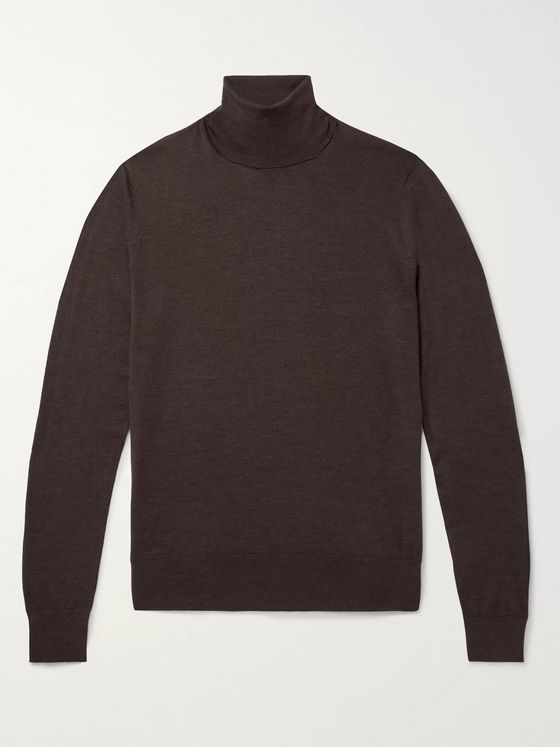 Dolce & Gabbana Wool Rollneck Sweater