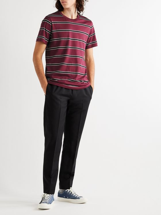MARNI Striped Cotton-Jersey T-Shirt