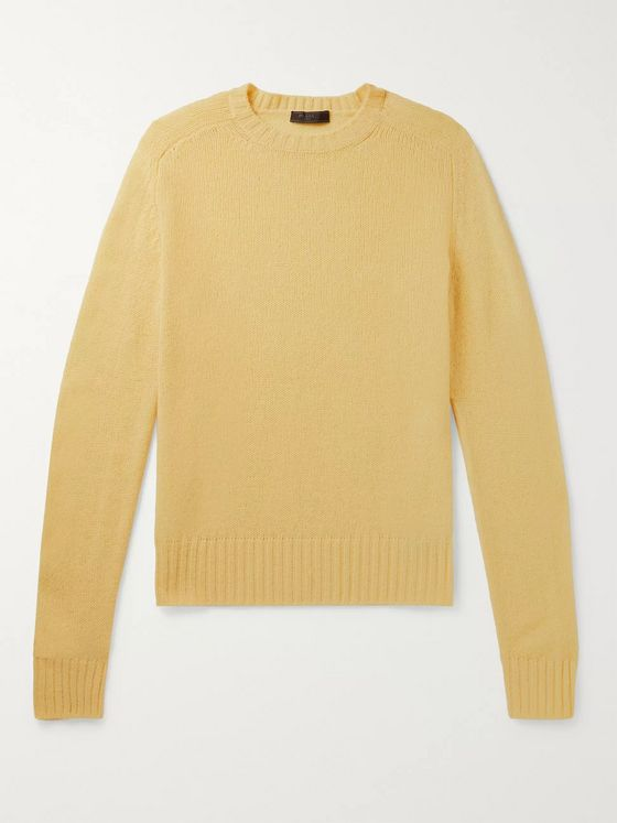 Prada Shetland Virgin Wool Sweater