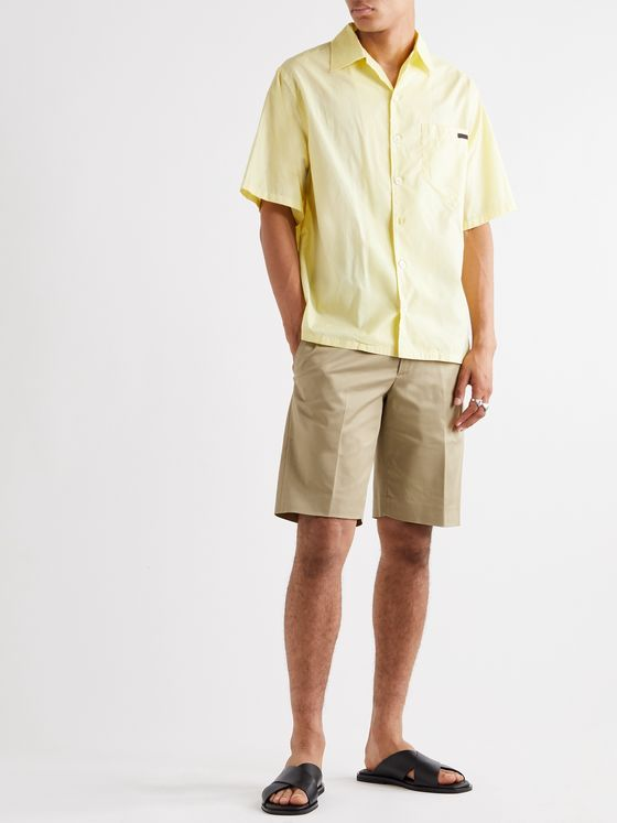 PRADA Stretch-Cotton Twill Bermuda Shorts